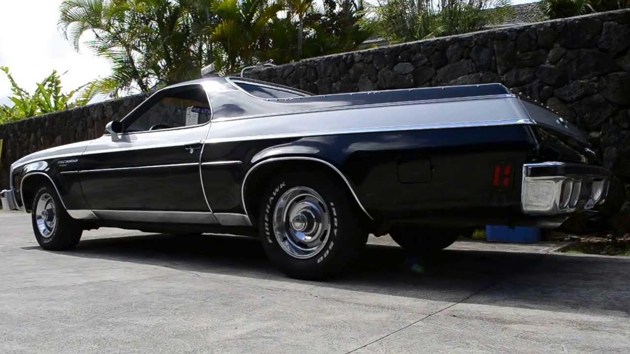 All Chevy 1976 chevy el camino : 1976 El Camino w/ Flowmaster Super 44's - YouTube