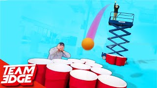 Download Giant Cup Pong With a Skylift! | Punishment edition!! Mp3 and Videos