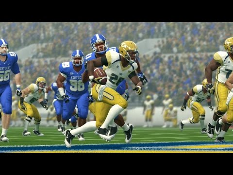 NCAA Football 14 Pretend Bowl Series Game 12/30/2016 Georgia Tech vs Kentucky