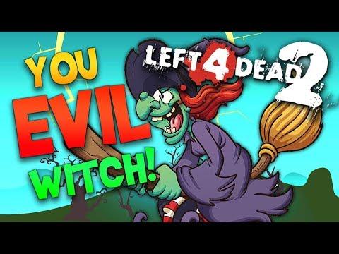 You Evil Witch! (L4D2 Zombies, Devil's Chapel #2)