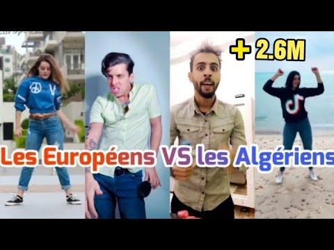 جزائريون ضد الأجانب على تيك توك Tik Tok Les Algériens vs les Européens