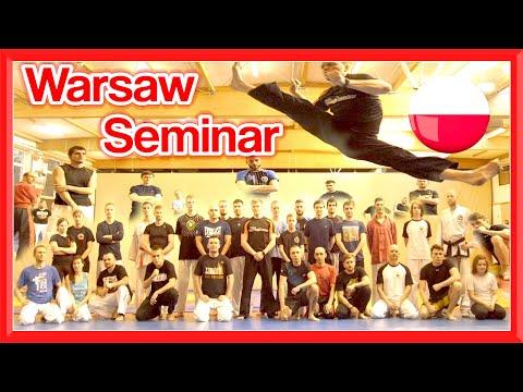 Taekwondo Kicking Seminar/Workshop in Warsaw