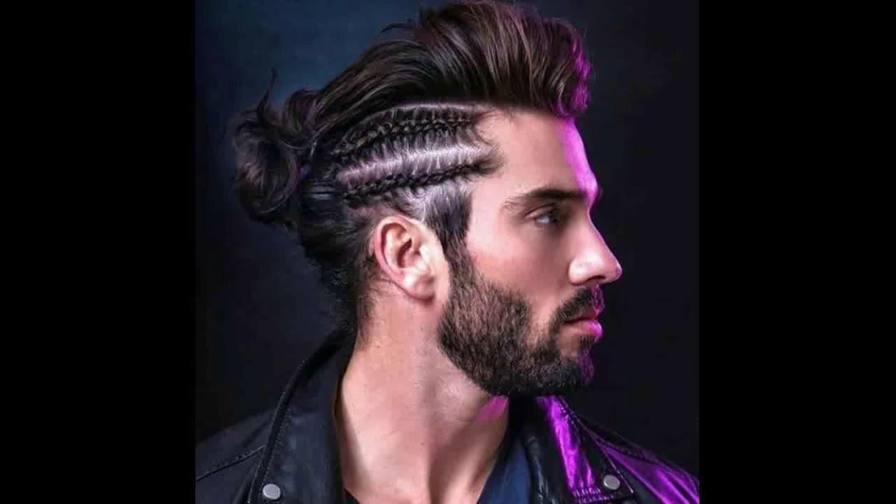 Peinados Para Hombres Con Trenzas Youtube