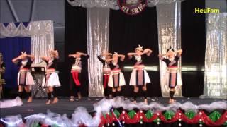 Sacramento Hmong New Year 2016 - 2017: Dance Comp Final Round - Tub Nyiaj Ntxhais Kub