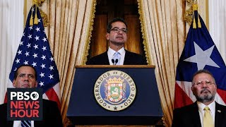 In Puerto Rico, Pierluisi is out, Vázquez is in -- and uncertainty reigns