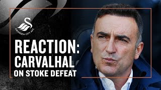 Reaction: Carvalhal on Stoke defeat