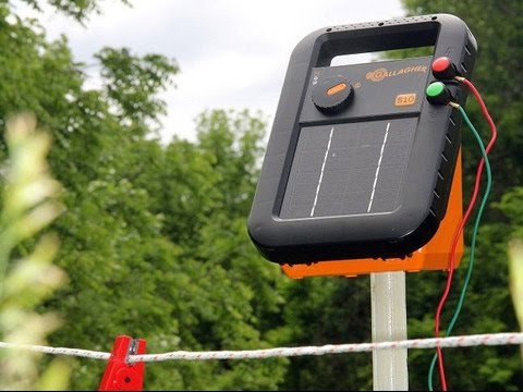 The Gallagher S10 Solar Ed Electric Fence Charger Review