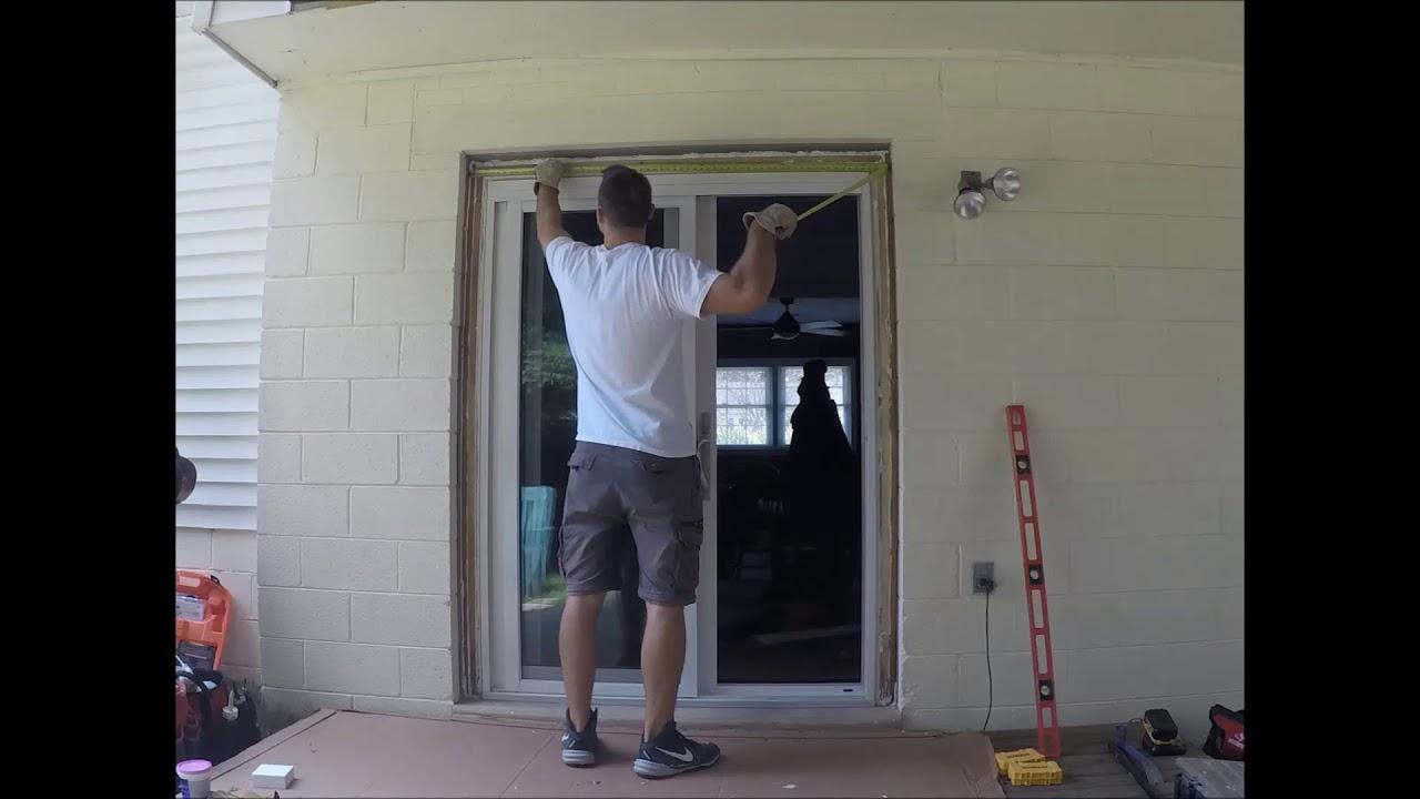 provia sliding glass door installation time lapse video