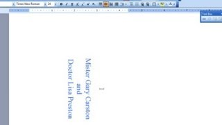 How To Make Place Cards With Microsoft Word : Microsoft Office Software