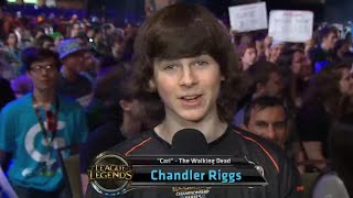 Chandler Riggs aka Carl (Coral) from the Walking dead talks about his League stream | PAX Prime 2014
