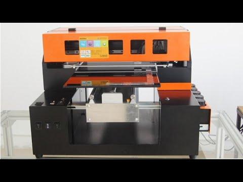 Demo Video for A3 UV Printer GF3375
