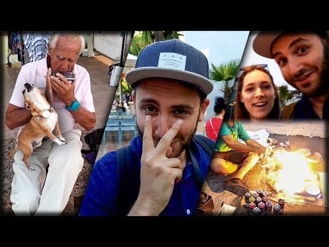 Spain. Day 8: Marbella. Singing Dog. Speed Painting.