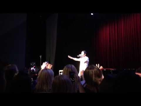 David Archuleta~Touch My Hand~Safford~6-23-16