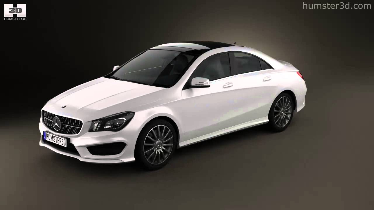 mercedes benz cla 45 amg 2013 by 3d model store youtube. Black Bedroom Furniture Sets. Home Design Ideas