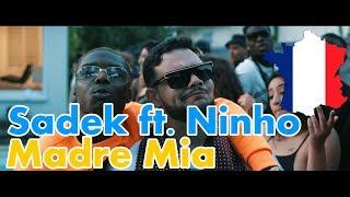 GERMAN REACTS TO FRENCH RAP: Sadek - Madre Mia feat. Ninho   cut edition