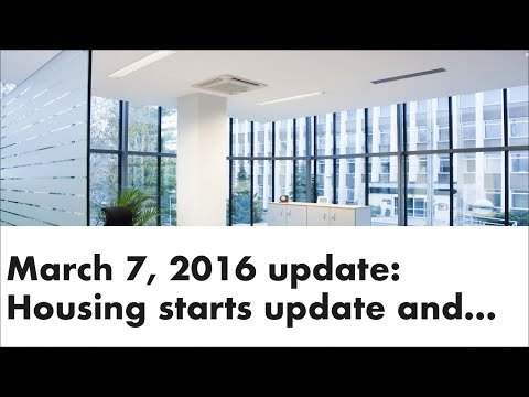 Housing starts update and Bank of Canada rate announcement