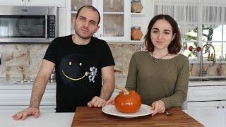 Lilyth & Arnak Make Ghapama - Armenian Cuisine - Heghineh Cooking Show