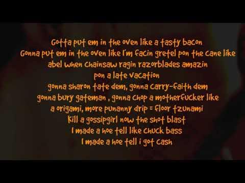 Ruffian Rugged - Godzilla one take lyrics video