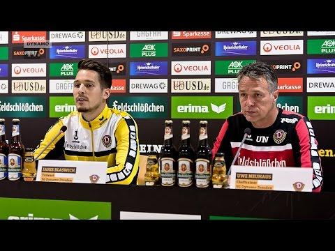 10. Spieltag | Kickers - SGD | Pressekonferenz vor dem Spiel