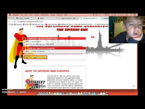 superhero name generator testing