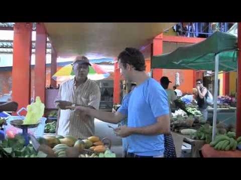 Fruit Market on the Seychelles Islands Victoria, Mahe (Raw Vegan Show #34)