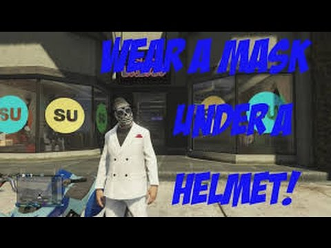 how to put on a helmet in gta 5 online