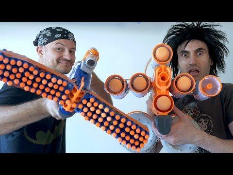 NERF WAR: 3 MILLION GUNS (Subscribers)!!