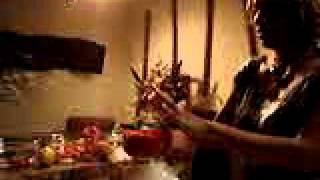 Hot Raw Chef-gail Johnson-stuffed Red Pepper Vegetable Hummus