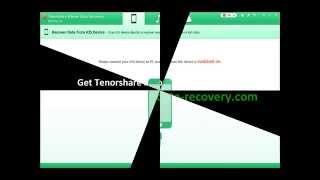 Tenorshare iPhone 6 Data Recovery Software