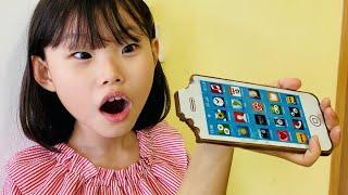 라임의 초콜릿 핸드폰 먹방 3 Marker 마법의 전자렌지 장난감 놀이 Chocolate Phone with Magic microwave Toys  | Food Challenge