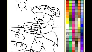 Pirates Coloring Pages For Kids - Pirates Coloring Pages