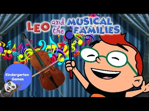 Disney Junior Little Einsteins LEO and the MUSICAL FAMILIES Learn Music Instruments