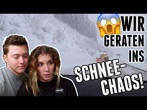 SCHNEE-CHAOS: Das war die schlimmste Autofahrt unseres Lebens... - Vlog 101