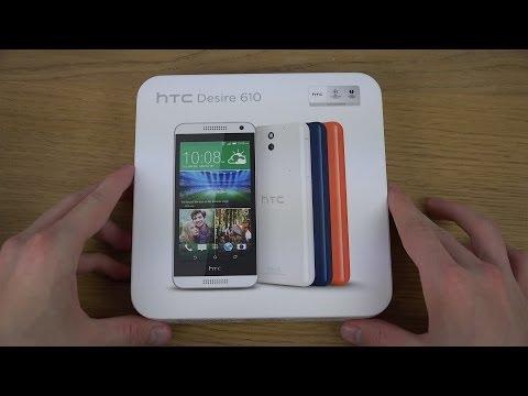 HTC Desire 610 - Unboxing (4K)