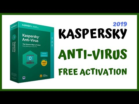 How To Download | Install And Activate Kaspersky Antivirus For Your PC/Laptop | Windows 10/8/7 2019