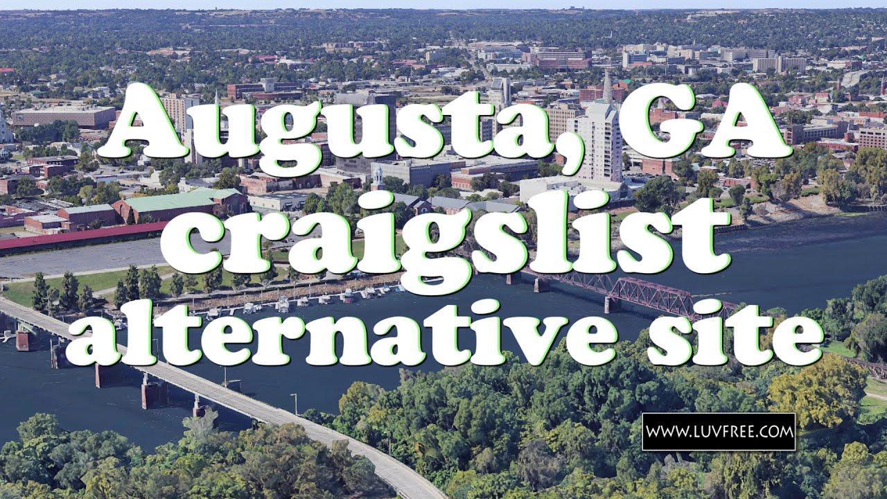 Craigslist Augusta, GA alternative - YouTube