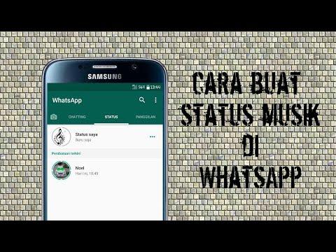 Cara Buat Status Music/lagu Di Whatsapp