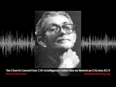 Church Committee: CHAOS - CIA Intel Ops Against US Citizens (B3.S9)