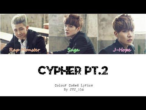 Free Download Bts(방탄소년단) - Cypher Pt.2: Triptych (colour Coded Lyrics Han/rom/eng) Mp3 dan Mp4