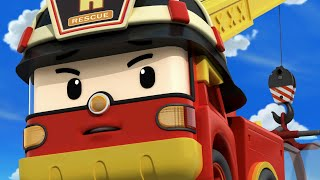 Cherish the Environment and Protect the Animals. | Cartoons for Kids | Robocar POLI TV Super transforming Robocar rescue team is here to save our neighbors ...