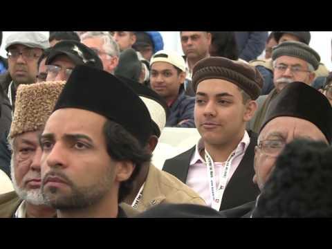 Jalsa Salana USA West Coast 2016   How to Establish Living Relationship with Allah   Imam Zafarullah