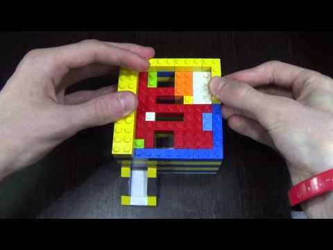 Как сделать конфетный автомат из лего 2 фотография