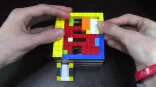 Как сделать лего конфетный аппарат (V8) (2 options) (RUS) / How to make lego candy machine (V8)