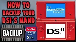 DSi NAND Backup! Simple Tutorial!