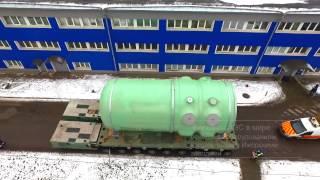 Отгрузка оборудования для АЭС Белене(, 2017-02-10T06:56:57.000Z)