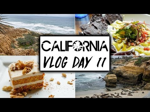 Final Day of Our California Travel VLOG  |  San Diego Vegan Food and Torrey Pines