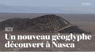 Un gigantesque géoglyphe en forme de chat découvert dans le désert de Nasca au Pérou