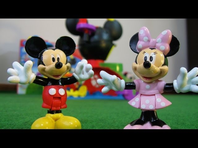 Mickey Mouse Fly n Slide Clubhouse Disney Junior Fisher-Price Videos De Viajes
