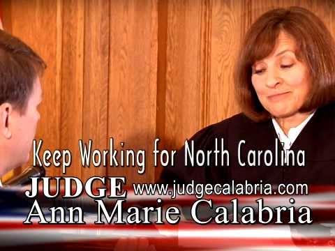 RE-ELECT JUDGE ANN MARIE CALABRIA - NC COURT OF AP...