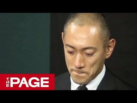 最期に「愛してる」妻・麻央さん死去 市川海老蔵さんが会見(2017年6月23日)
